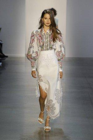 Zimmermann's New York Fashion Week show offers high-gloss 70s bohemia   London Evening Standard