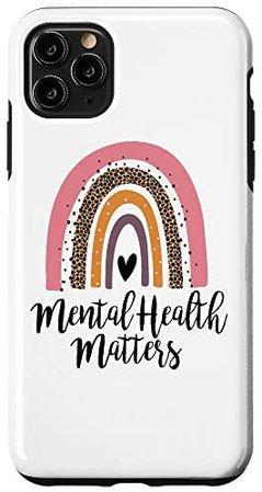 Amazon.com: iPhone XR Mental Health Matters Inspirational Awareness Case: Clothing
