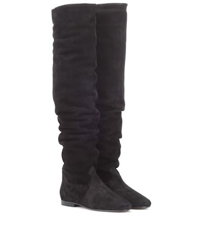 Ranald suede over-the-knee boots
