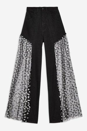 **Wide Leg Jeans by Jaded London | Topshop