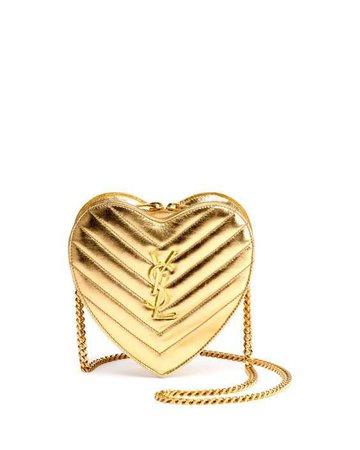 YSL heart bag