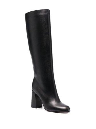 Red Valentino block-heel boots