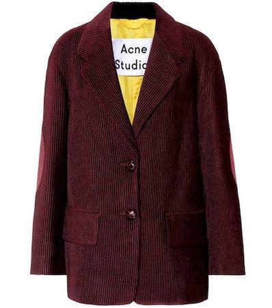 Juul corduroy jacket