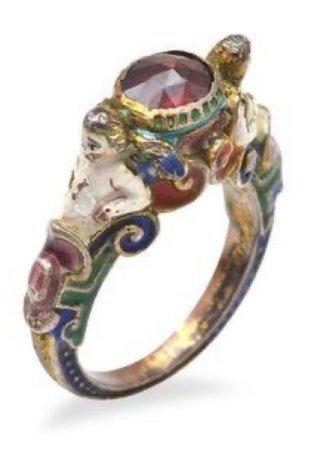vintage hippie ring