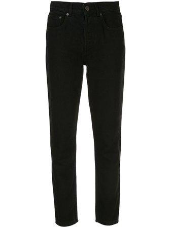 Black BOYISH DENIM The Billy straight-leg jeans - Farfetch