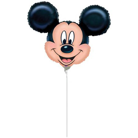 "Mickey Mouse Mini Foil Balloon - 9"" Foil 
