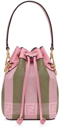 Mon Tresor mini bucket bag