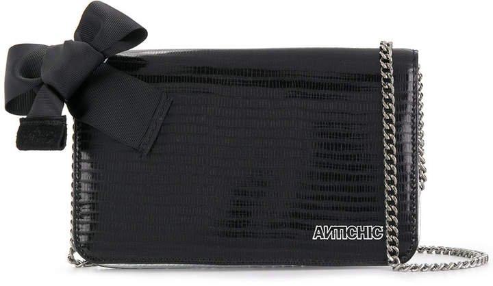 Antichic big wallet shoulder bag