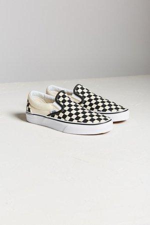 50 Vans Checkerboard Slip-On Sneaker | Urban Outfitters