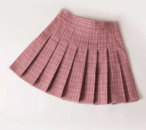preppy skirt with shorts