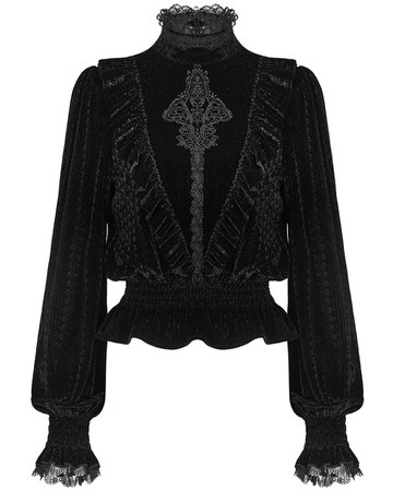 PUNK RAVE WT-571 WOMENS GOTHIC TOP