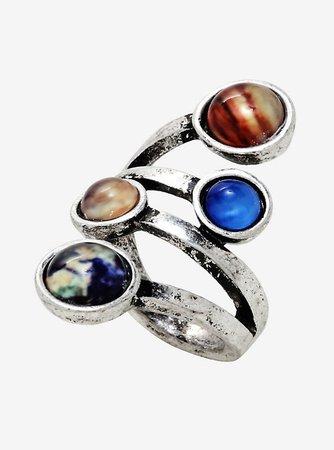 Planet Wrap Ring
