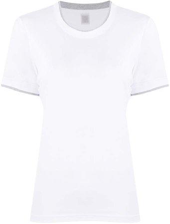 crew-neck short sleeve T-shirt