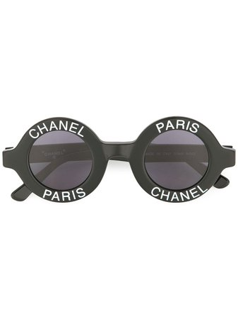 Chanel Pre-Owned CC Logos Sunglasses Eye Wear - Farfetch
