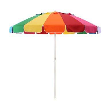 8ft Rainbow Beach Umbrella - Sam's Club