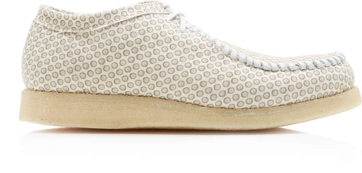 Inno Printed Cotton-Canvas Sneakers