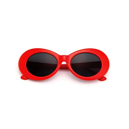 NEVERMIND SUNGLASSES RED