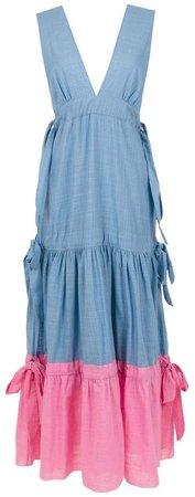 Bourgen maxi dress