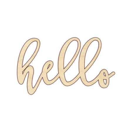 Hello Hello Sign Hello Wood Sign 160192 | Etsy