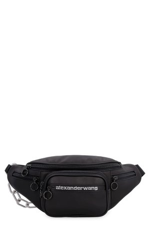Alexander Wang Attica Leather Belt Bag With Logo