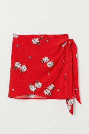 Short Skirt - Red