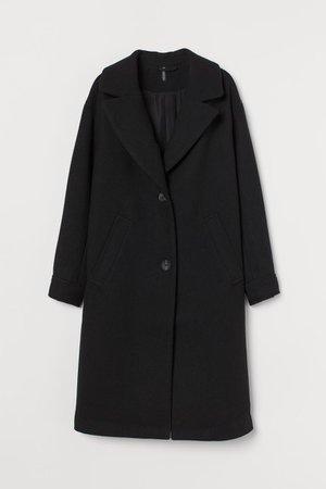 Wool-blend Coat - Black - Ladies | H&M CA
