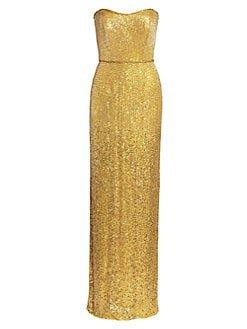 Jenny Packham strapless dress