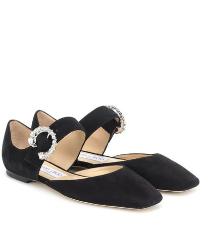 Jimmy Choo Gin suede ballet flats