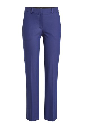 Cropped Pants with Cotton Gr. US 2