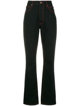 Calvin Klein 205W39nyc X Andy Warhol cowboy print bootcut jeans £173 - Fast Global Shipping, Free Returns