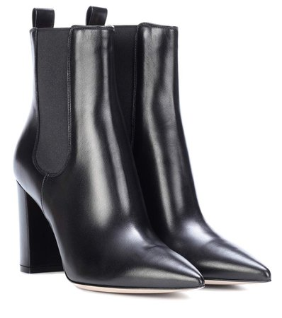 Gianvito Rossi Myers Leather Boots