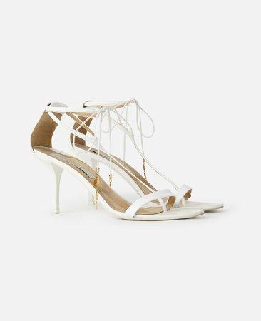 White Heeled Sandals - Stella Mccartney