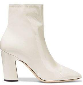 Mirren 85 Patent-leather Ankle Boots