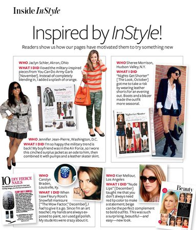 Featured in InStyle Magazine Feb 2013... - Kier Couture