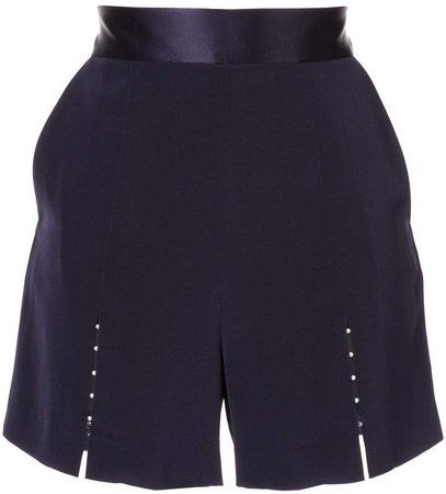 Comme Moi beaded detail shorts