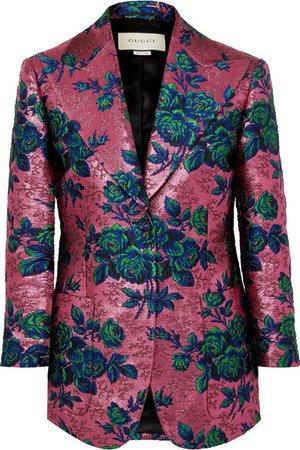 Gucci | Floral brocade blazer | NET-A-PORTER.COM
