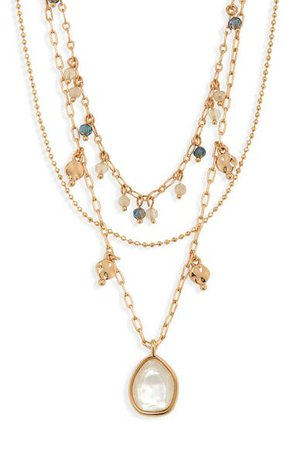 Halogen® Layered Necklace | Nordstrom