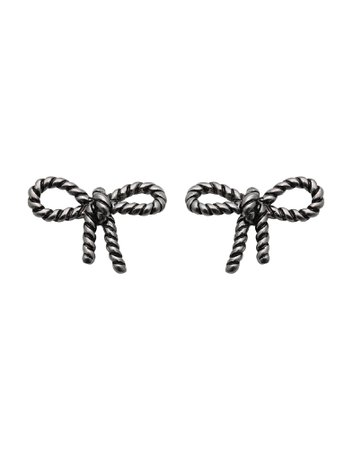 Marc Jacobs Rope Bow Studs - Earrings - Women Marc Jacobs Earrings online on YOOX United States - 50224931MO
