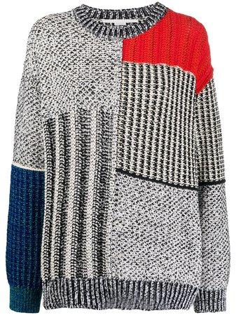 Stella Mccartney Mixed Texture Jumper Ss20 | Farfetch.com