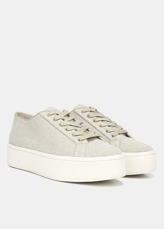 Linen Weber Sneaker for Women | Vince
