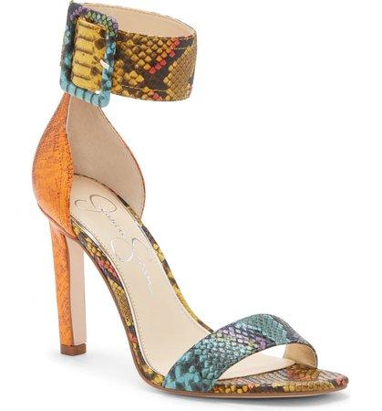 Jessica Simpson Caytie Ankle Strap Sandal (Women) | Nordstrom