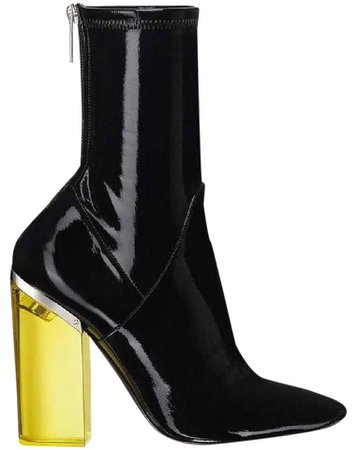 Dior Patent Leather Lucite Boots