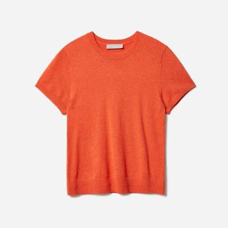 Women's Cashmere Tee | Everlane red
