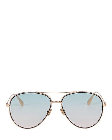 Dior DiorSociety Aviator Sunglasses   INTERMIX®
