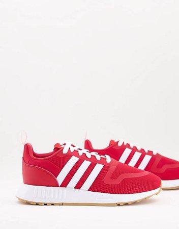 adidas Originals Multix W sneakers in scarlet   ASOS