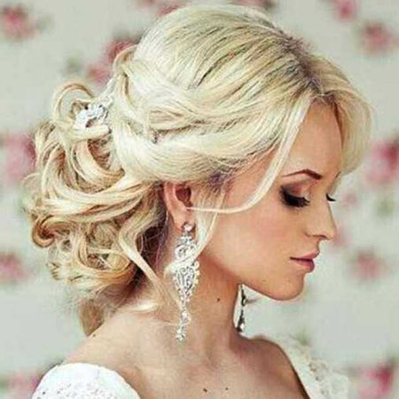 hair accessory, pink boutique, blonde hair, blonde hair, updo, wedding hairstyles - Wheretoget