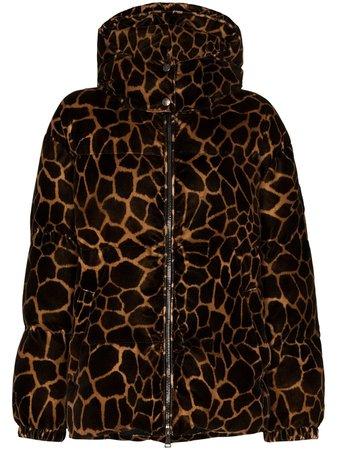Moncler Kundogi leopard-print Puffer Jacket - Farfetch