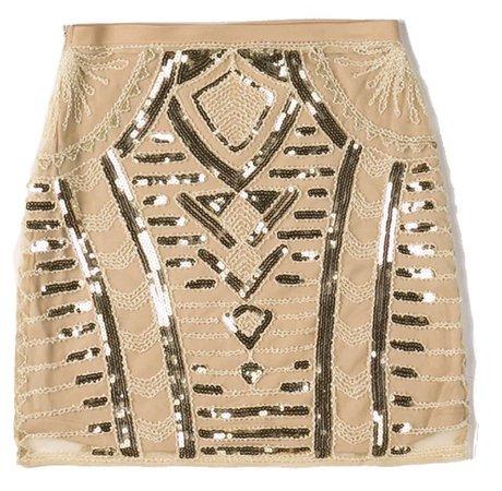 Body Con Mini Skirt