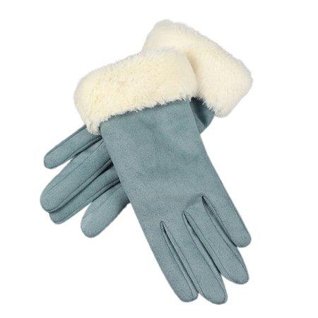 KLV-1Pair-Gloves-Fashion-Women-Imitation-Leather-Suede-Gloves-Autumn-Winter-Warm-Fur-Mittens-Pink-Blue.jpg (1000×1000)