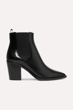 70 Leather Chelsea Boots - Black